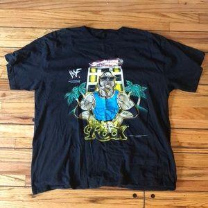WWF The Rock T- Shirt